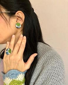 Origami Ring 💍und Ohrringe 🌟_Ein schön