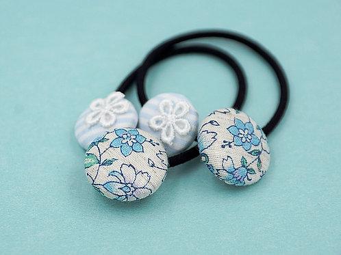 Kurumibotan (Blumen hellblau)