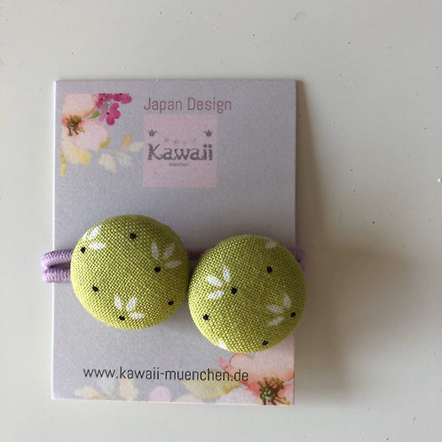 Kurumibotan Mini (Grün -Blumen)
