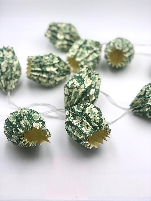 Lichterketten Plissea (Grün Blume)