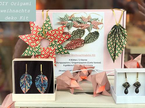 DIY Origami Weihnachtsdeko Kit aus Carta Varese Papiere