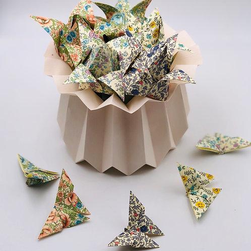 DIY Origami  Frühlingsdeko Kit