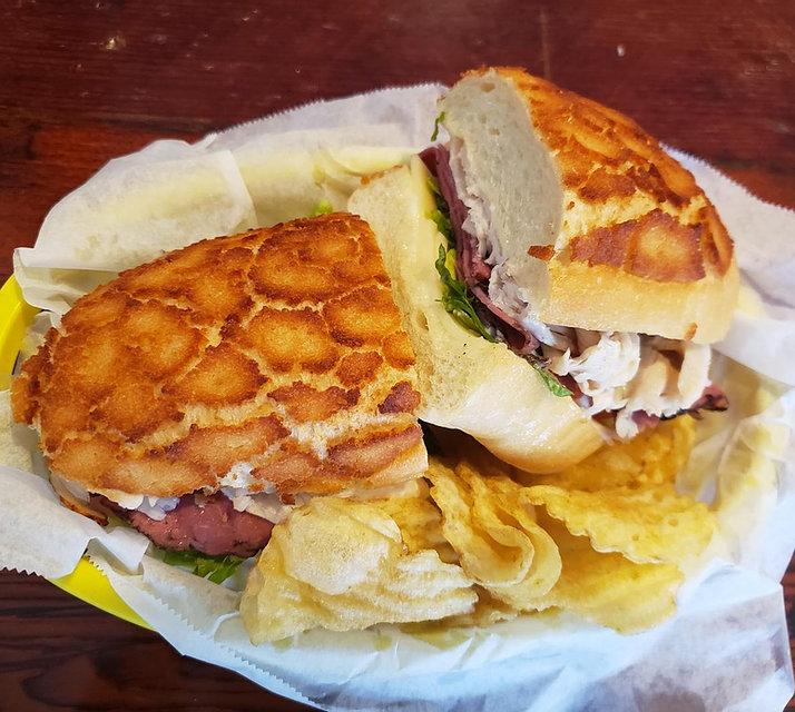 Deli Sandwich at Johnathan's