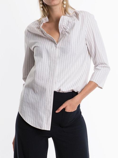 Sienna Ruffle Neck Shirts