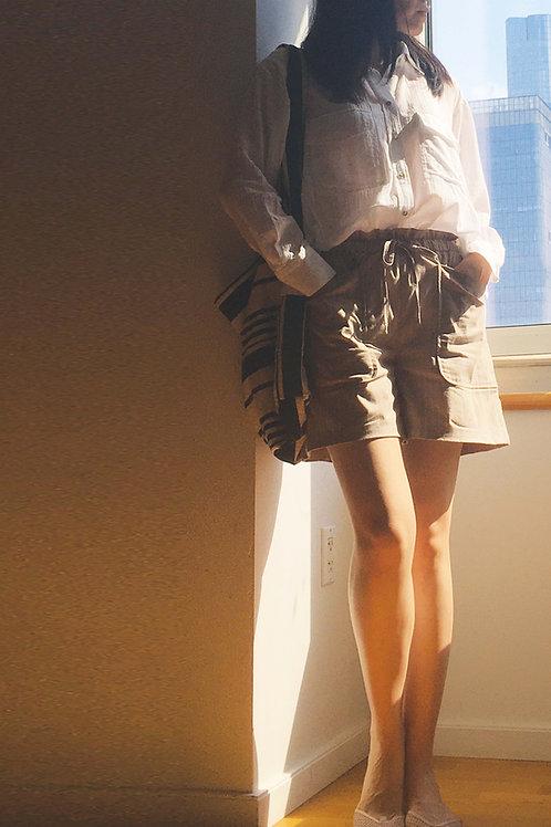Four Pockets Drawstring Pants
