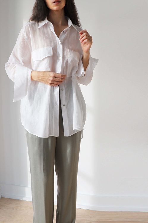 Classic Shirt With Pockets