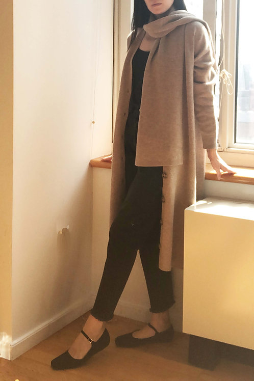 Cashmere Cardigan Set