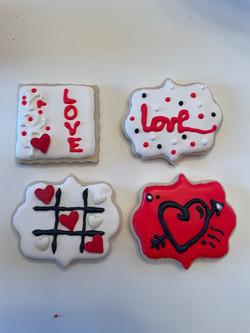 Valentine Message Cookie