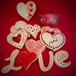 Assorted Valentine Cookies