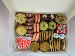 Assorted Valentine's Cookie Gift Box