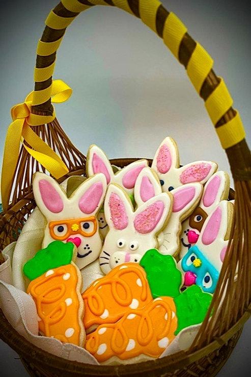 Easter Bunny Bakery Basket