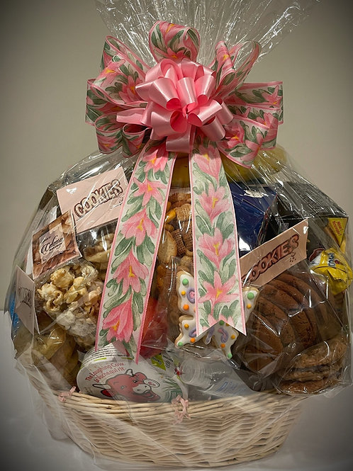 Salty, Sweet and Fruity Delight Gift Basket