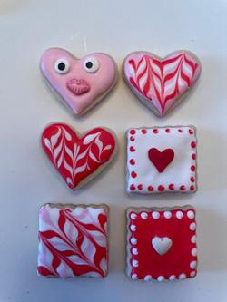 Valentine Cookies-Small