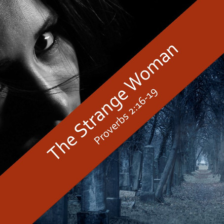 A Strange Woman - Proverbs 2:16-19