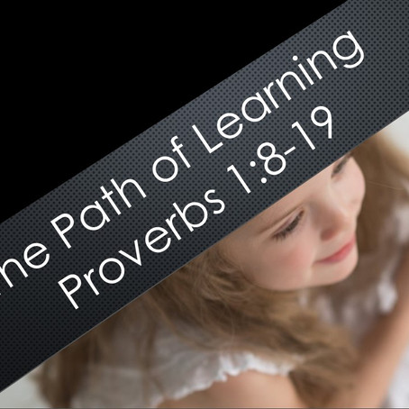 The Path of Learning