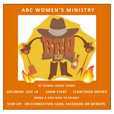 Women's Ministry BBQ