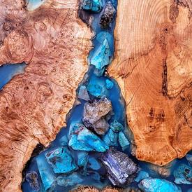 Wood & Resin Art