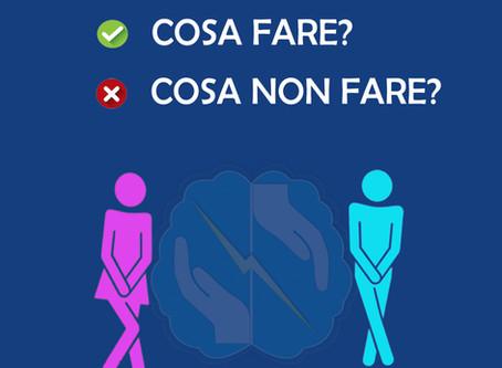 Incontinenza urinaria - Cosa fare? #Fisioconsiglio