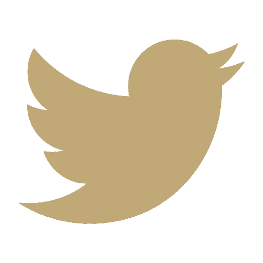 Social Icons GOLD_Twitter