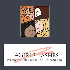4GIRLS premium mink lashes