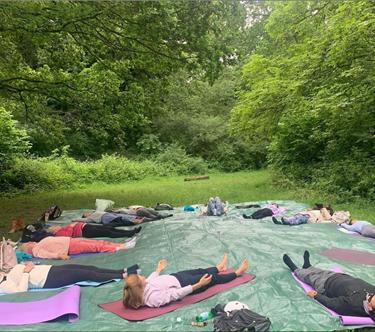 Outdoor Woods Women's Wellness Retreat