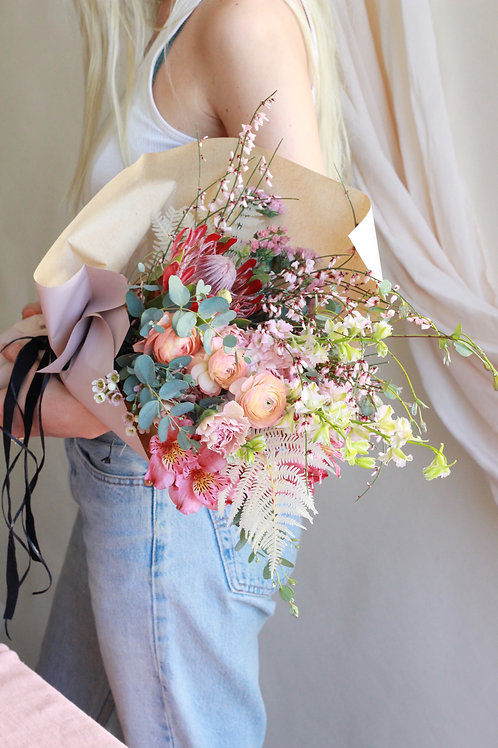 Wild One -  Paper Wrap Bouquet