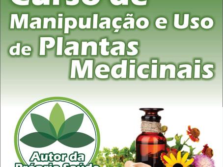 Curso Online de Manipulação e Uso de Plantas Medicinais 2.1