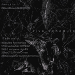 【live】January-February schedule