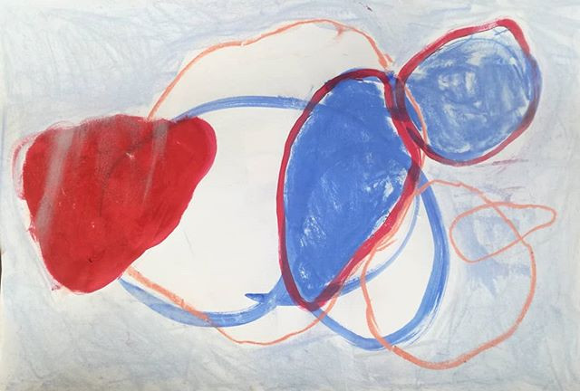 Red, Blue and Orange Forms