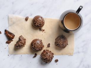 Raw Vegan Gingerbread Truffles