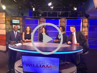 Dee Dee Bass Wilbon Talks Politics on the Armstrong Williams Show