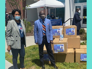 Armstrong Williams and Howard Stirk Holdings Donate 50,000 Mask to Howard University COVID-19 Testin