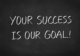 Your succes is our goal