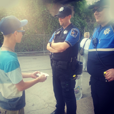 showing appreciation to our Law Enforcement with some magic!