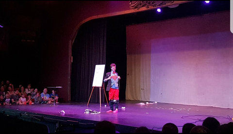 Stage Show for 700+ Parents and Kids in Hancock, NY