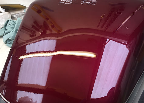 Honda CB250 DX Tank