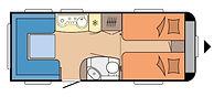 Hobby  540 UL  - DE LUXE Caravana - 2019