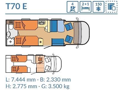 Hobby T70 E - 2020 - OPTIMA PREMIUM