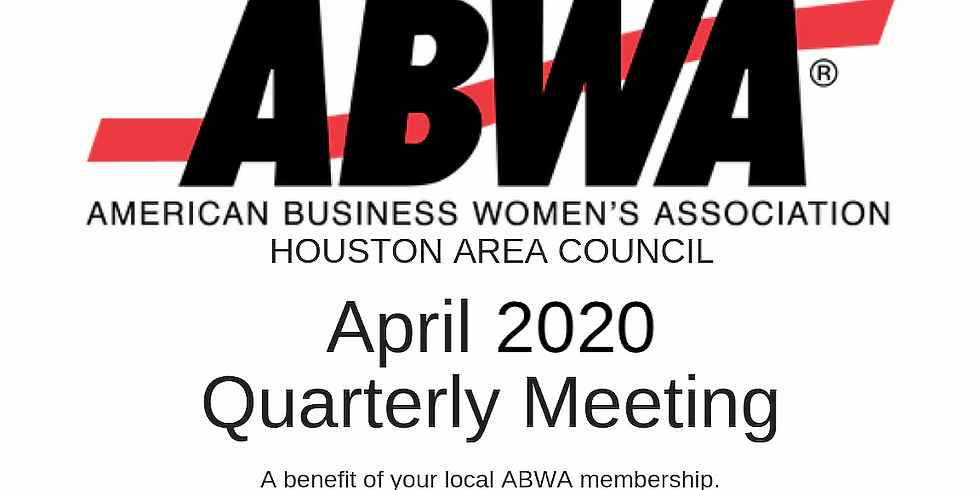 Virtual April 2020 Quarterly Meeting