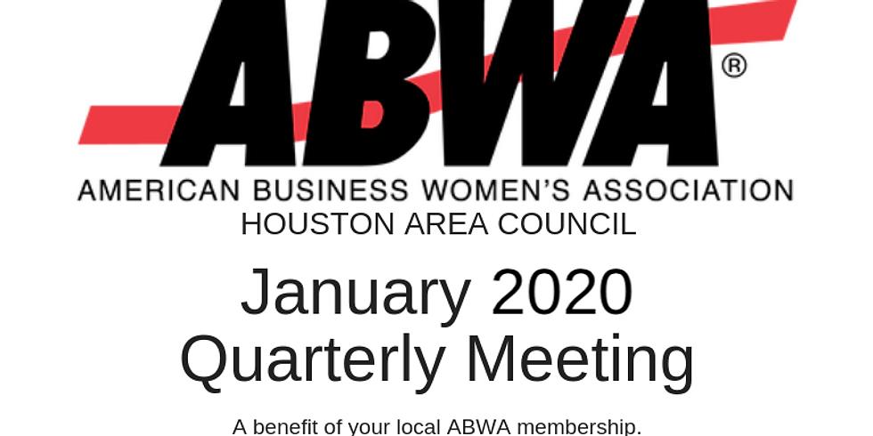 January 2020 Quarterly Meeting