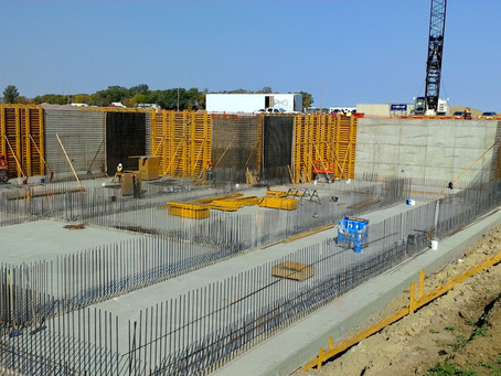 Wall Pours Continue