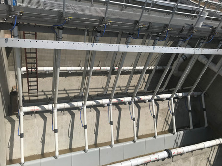 Clarifiers, Dry Wall and More Piping