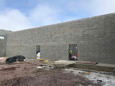 Masonry Wall, Floors, and Site Utilities