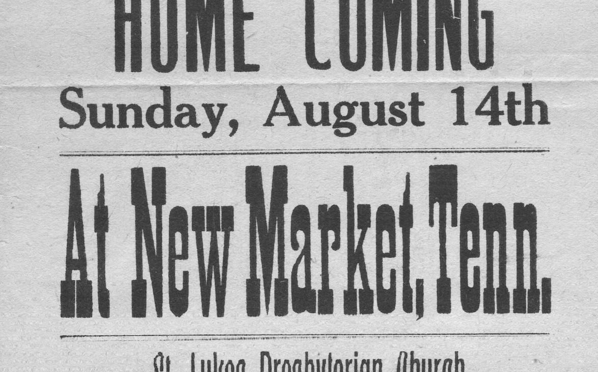 New Market Homecoming St Lukes Presbyter