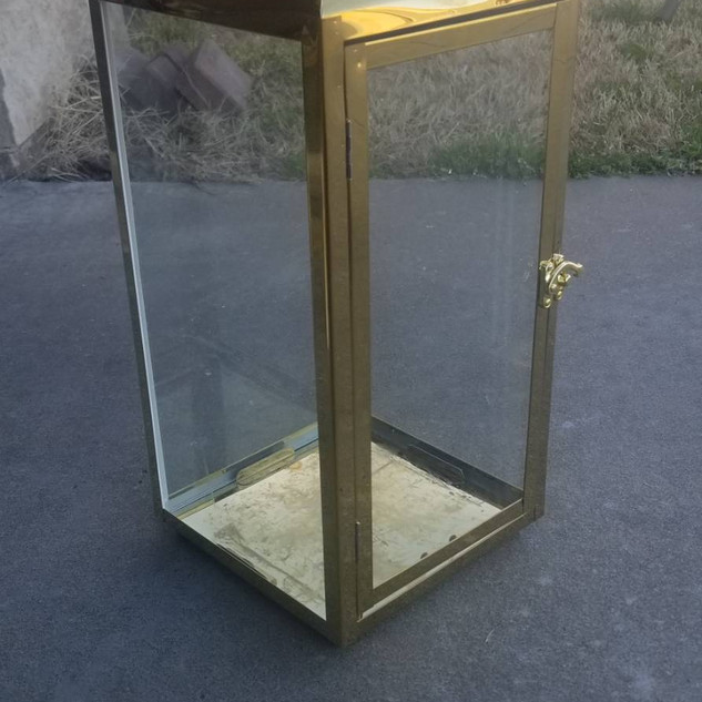 Large 18in Gold Lantern