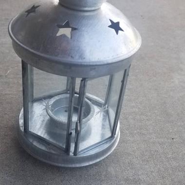 Silver Star Lantern- $6 (QTY-1)