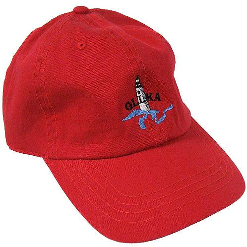 Red GLLKA Logo ball cap