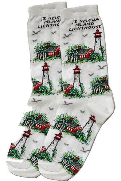 St. Helena Island Lighthouse Socks