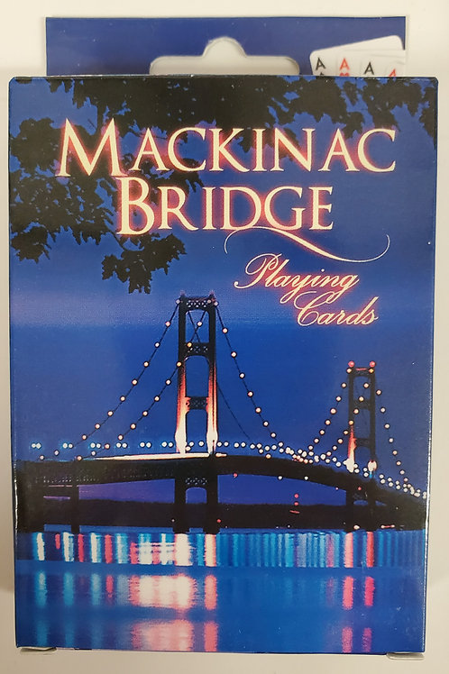 Mackinac Bridge Playing Cards