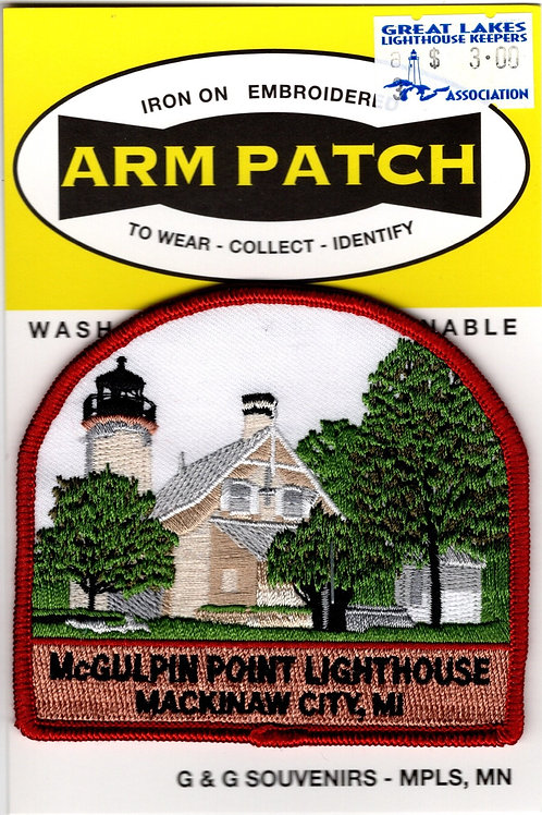 McGulpin Point Lighthouse Patch